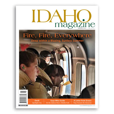 IDAHO Magazine, January 2016.