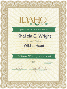 Idaho Award