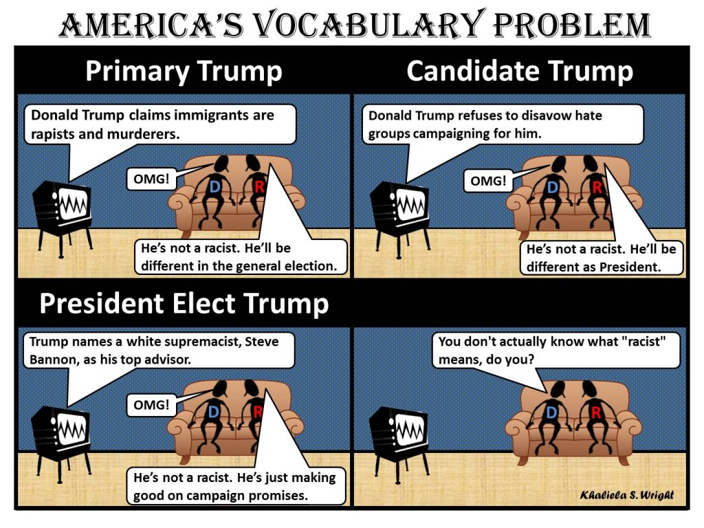 """America's Vocabulary Problem."""