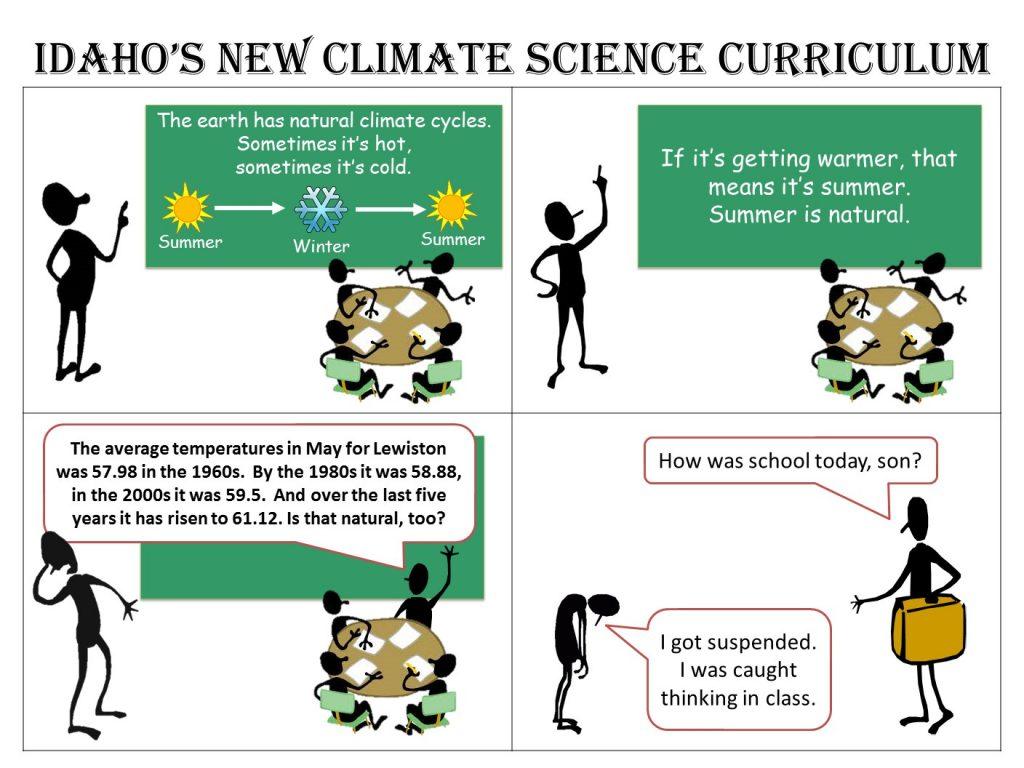"""Idaho's Climate Curriculum"""
