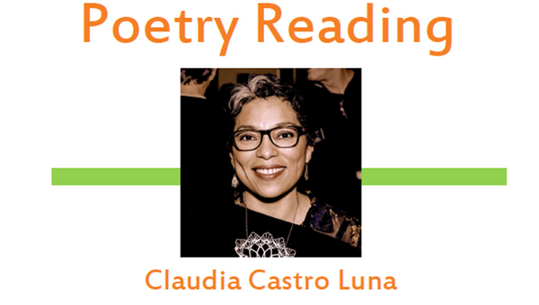 Washington State Poet Laureate, Claudia Castro Luna